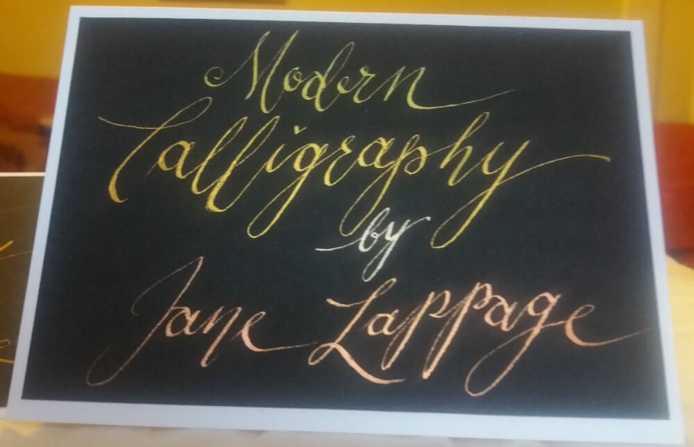 Beginner s modern calligraphy course arts