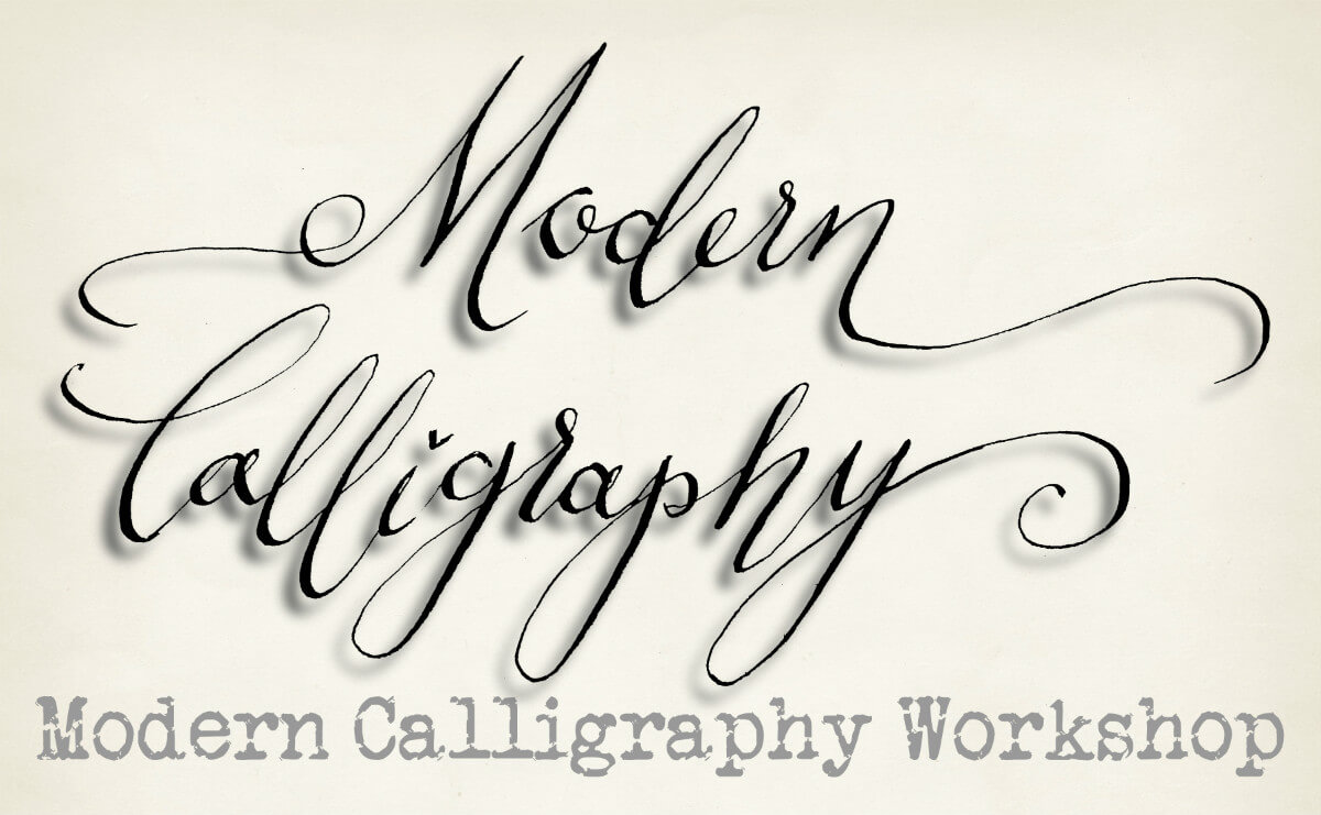 Modern Calligraphy Strelley Hall Calligraphy Arts
